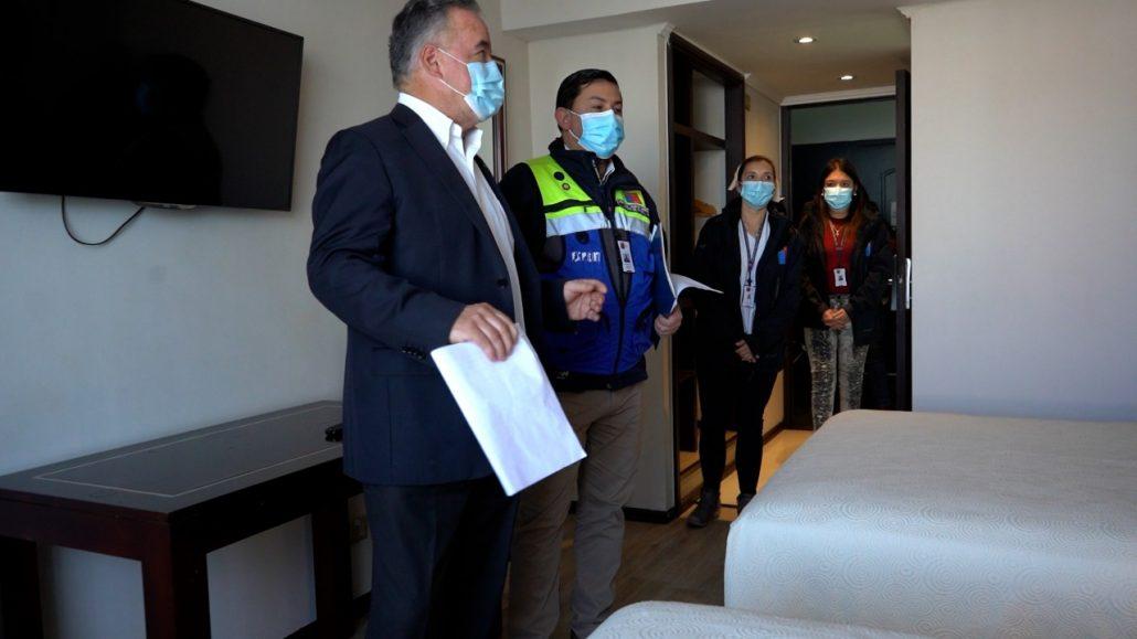 La autoridad sanitaria determinó el traslado de personas de Los Ángeles a Concepción