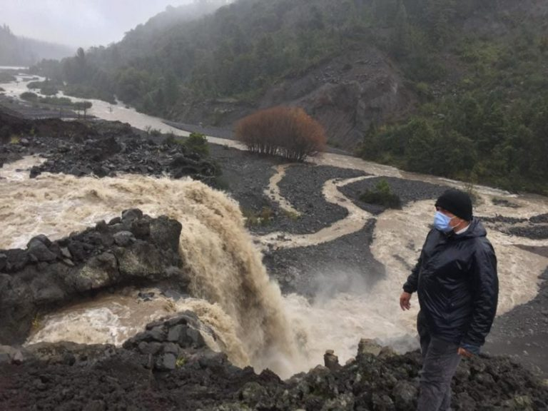 Cierran el Parque Laguna del Laja por desborde del estero Pangue
