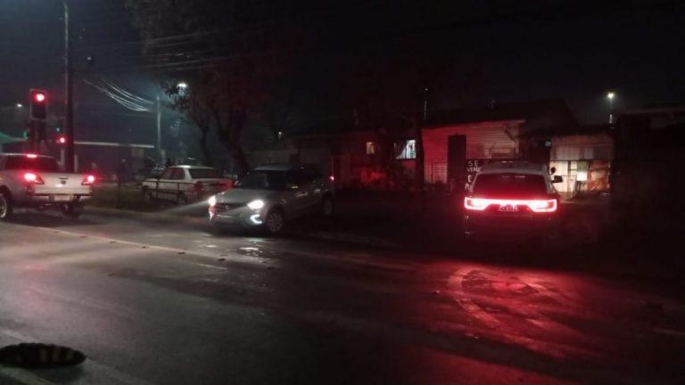 Los Ángeles: Motorista queda lesionado tras colisión en Las Azaleas