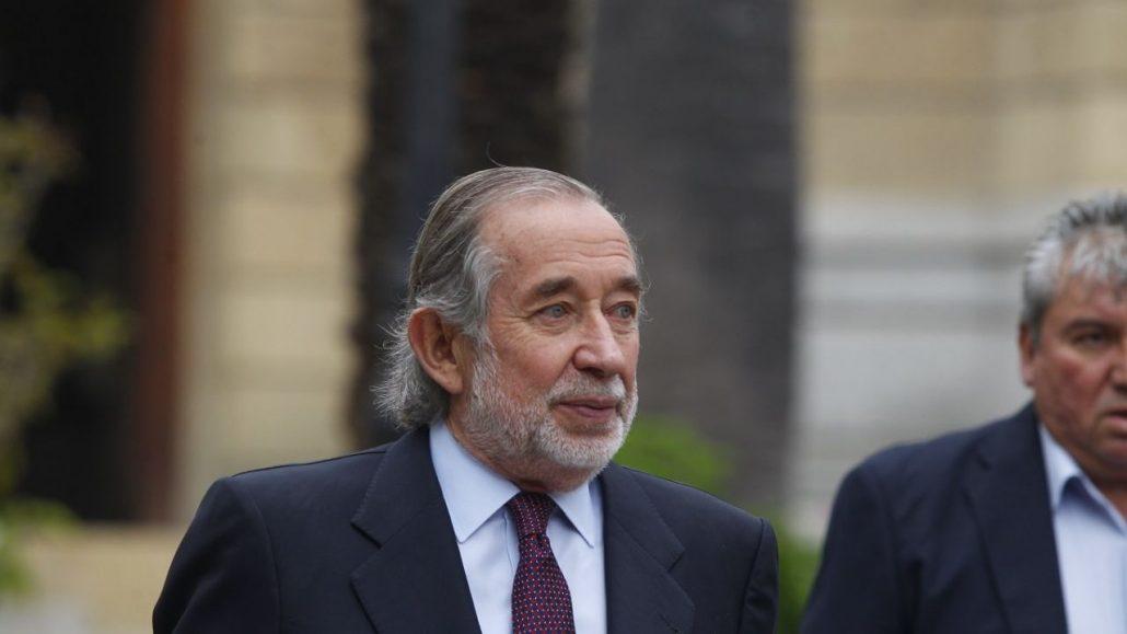 El ex senador UDI Jovino Novoa murió a los 76 años.