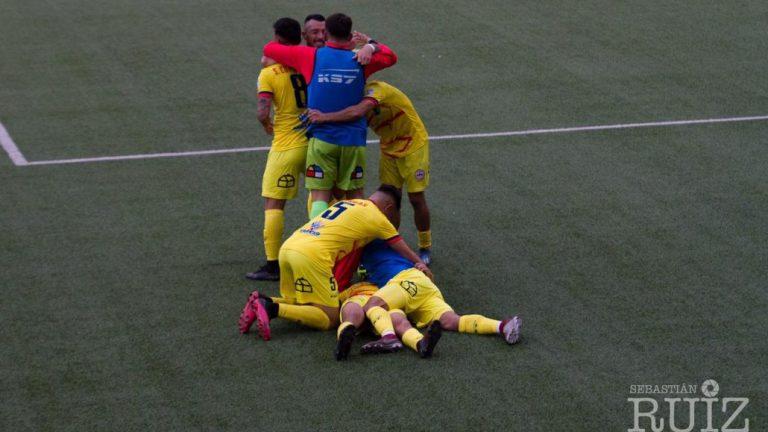 Sigue la buena racha: Iberia le ganó a Limache y queda primero en la tabla