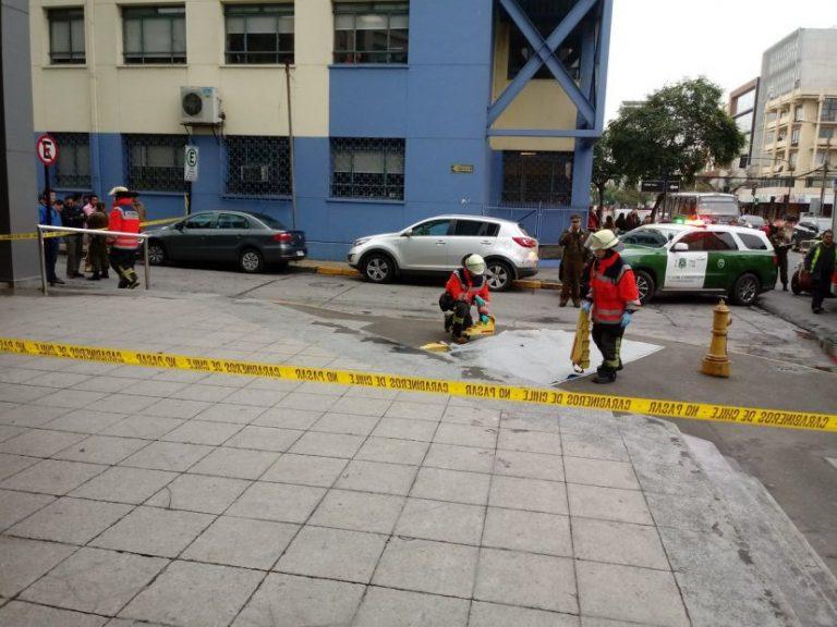 Joven quiso evitar una fiscalización y cayó del piso 14 en Concepción