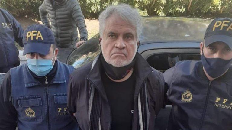 Tras ser capturado en Argentina: Walter Klug ingresó a Regimiento de Policía Militar