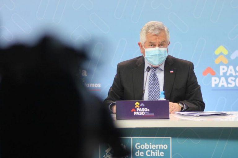 Ministro de salud está con síntomas de Covid: PCR salió negativo