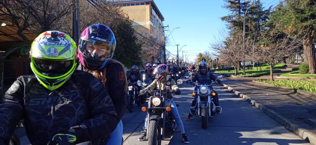 conductores moto de Los Ángeles.