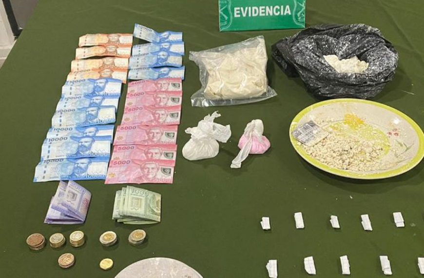 Nacimiento: OS7 de Los Ángeles detiene a cinco personas por tráfico de drogas