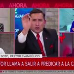 Multan a Mega por polémica entrevista al Pastor Soto en 2020