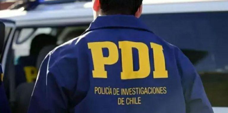 Tomé: PDI detuvo a dos personas que vendían droga desde la pieza de un hostal