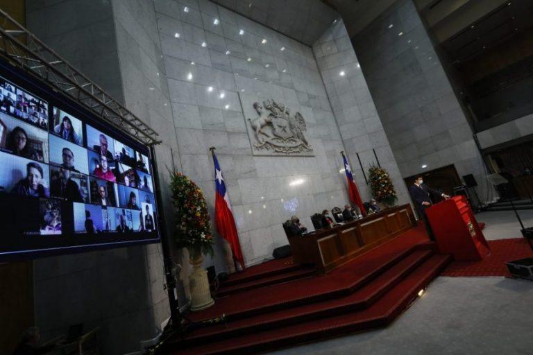 Con aforo reducido Presidente Piñera hará su última cuenta pública