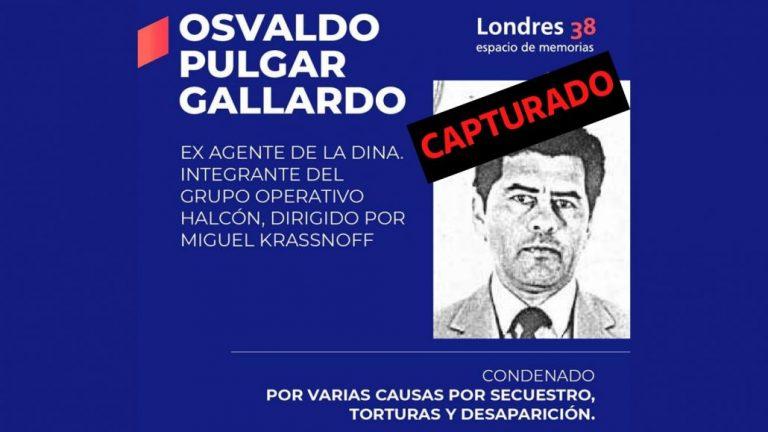 Detienen en Antuco a ex agente de la DINA prófugo de la justicia
