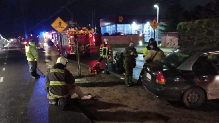 Conductor ebrio choca en Los Ángeles: 3 lesionados