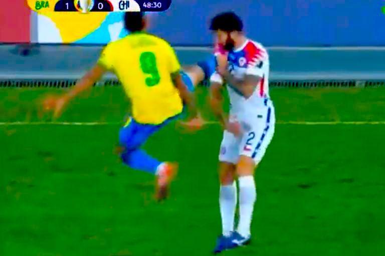 Se acabó la Copa América para Chile: Cayó por 1-0 ante Brasil