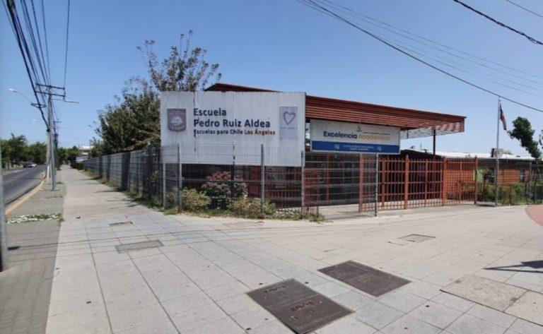Nochero protagoniza robo en Escuela Ruiz Aldea de Los Ángeles