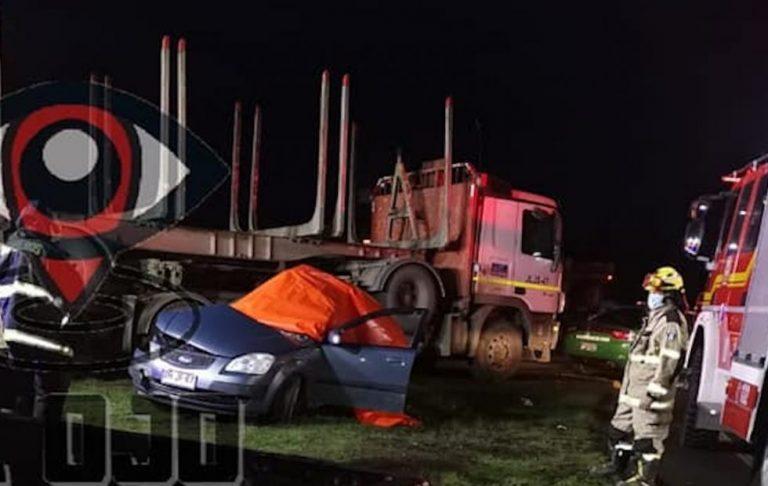 Dos muertos y dos heridos graves deja accidente camino a Nacimiento