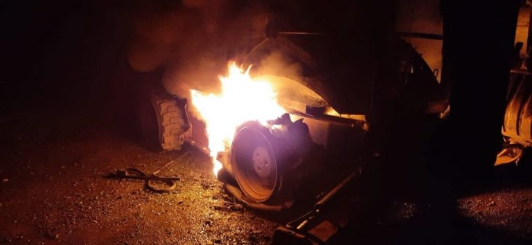 Desconocidos protagonizan atentado incendiario en Quilaco