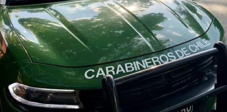 Nuevo auto robado es recuperado por Carabineros de Los Ángeles