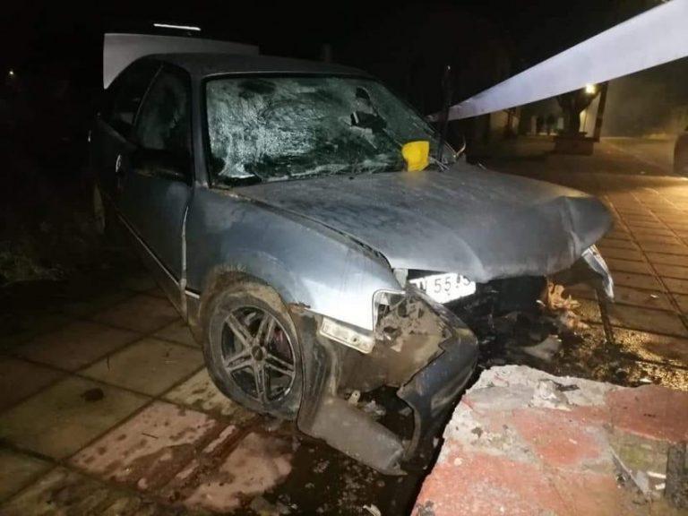 Hombre murió tras chocar en pleno centro de la comuna de Lumaco