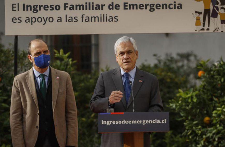 Diputados de Chile Vamos solicitaron a Piñera nueva extensión del IFE Universal