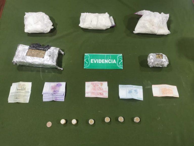 OS7 detiene a un hombre de 40 años con 4 kilos de drogas en Las Maicas