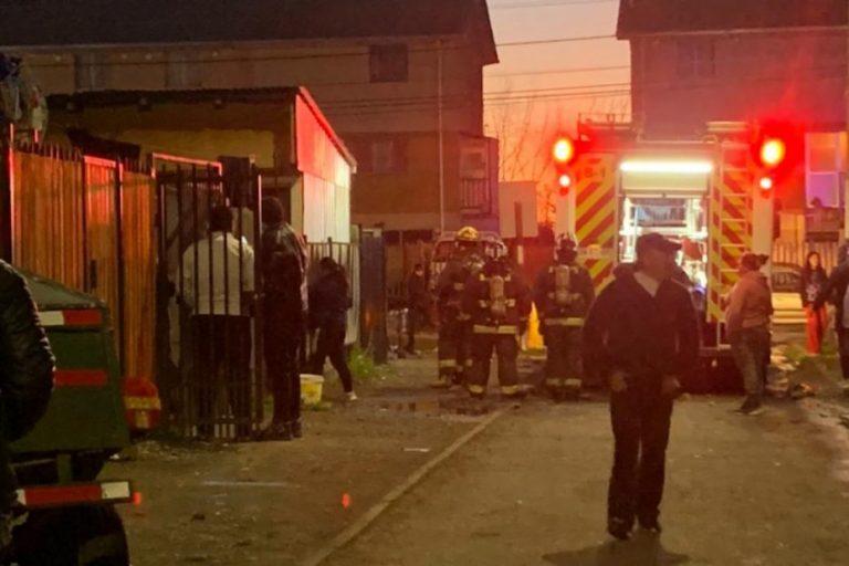 Los Ángeles: Principio de incendio en la villa San Luis afectó a un departamento