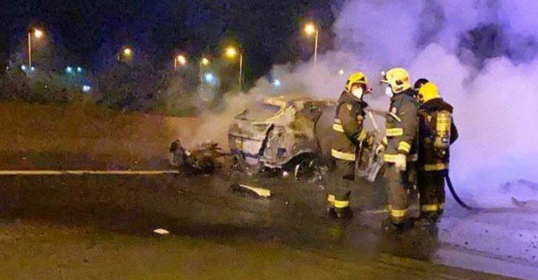 Accidente de tránsito en Lota: dos fallecidos y responsables se dieron a la fuga