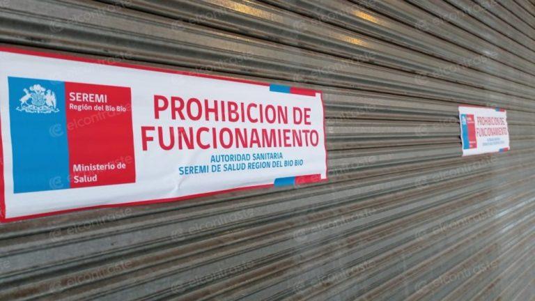 Clausuran Mall Chino de Paillihue por incumplir las medidas sanitarias