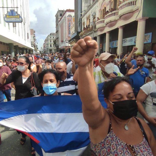 Partido Comunista de Chile envía su apoyo al gobierno cubano en medio de crisis social