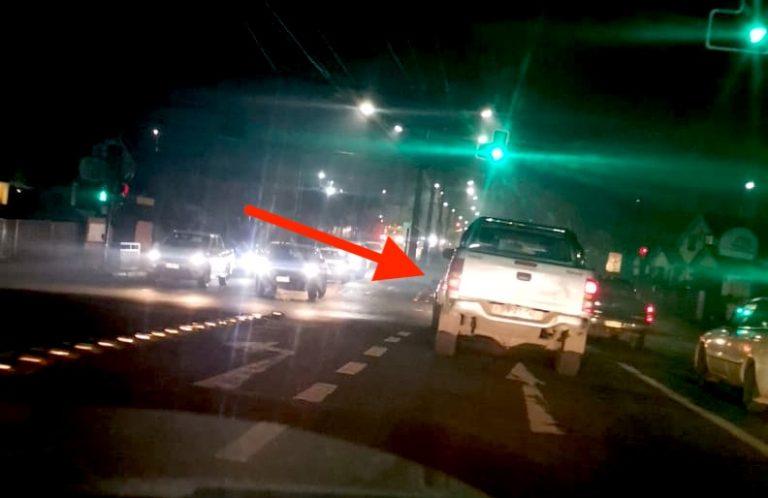 Motorista relata frialdad de hombre que la chocó: «me miró y se dio a la fuga»