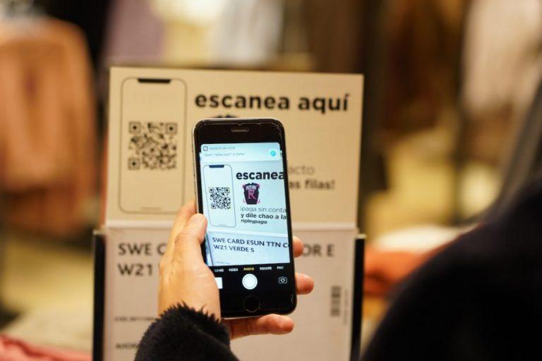 Ripley lanza innovador sistema de pago a través del celular para agilizar la compra en todas sus tiendas