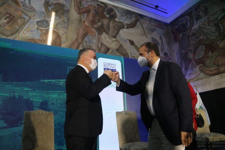 Rodrigo Díaz asumió como Gobernador: «Espero ser un instrumento de paz»