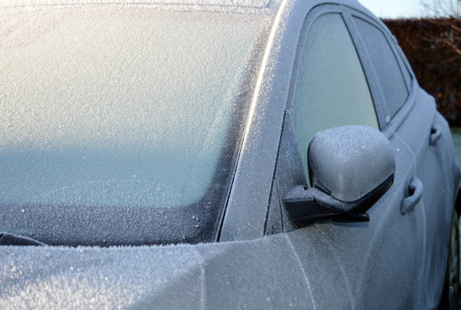 termometros marcaron bajo cero los angeles frio