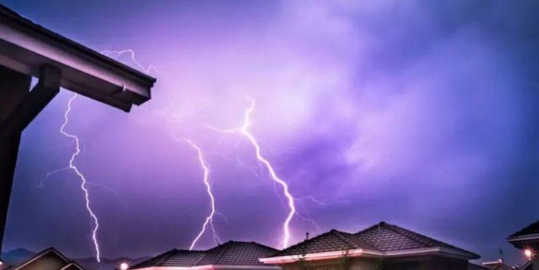 Emiten aviso de probables tormentas eléctricas en el Biobío y dos regiones más