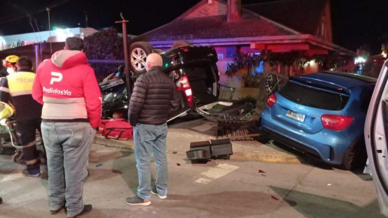 Triple colisión a alta velocidad y balacera ocurrió en avenida Alemania