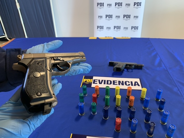 BIPE de la PDI captura a uno de los autores de sendas balaceras en Los Ángeles