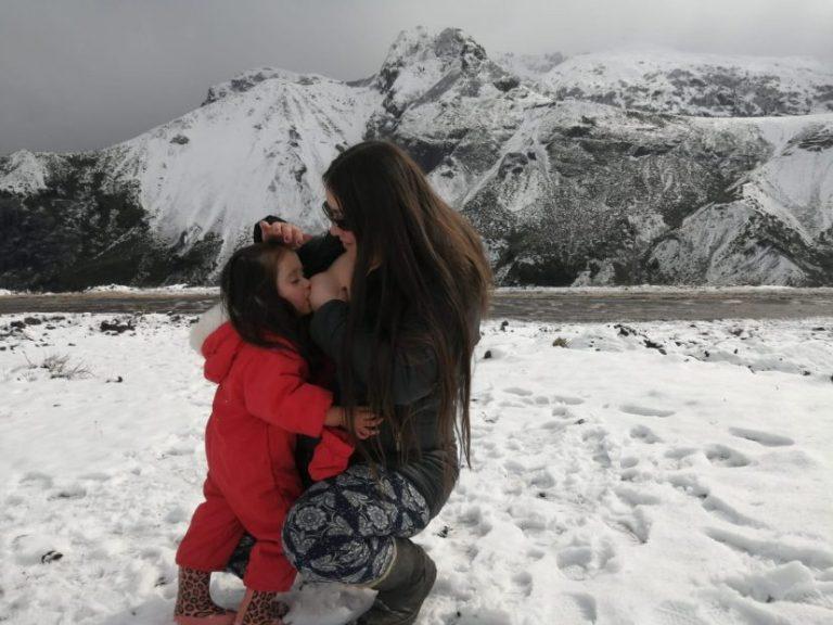 Semana de la lactancia materna fue celebrado con fotografías en el Biobío: Ganadora es de Negrete