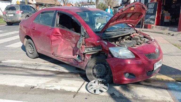 Conductores salvan ilesos pese a violenta colisión en Los Ángeles