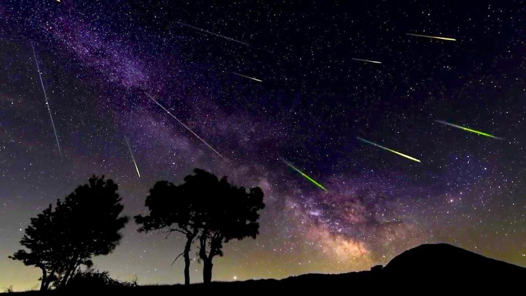 Cometa Swift-Tuttle lluvia de estrellas