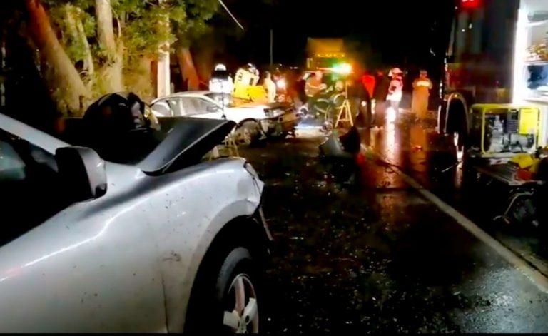 Un muerto y dos heridos graves deja colisión de vehículos en Nacimiento