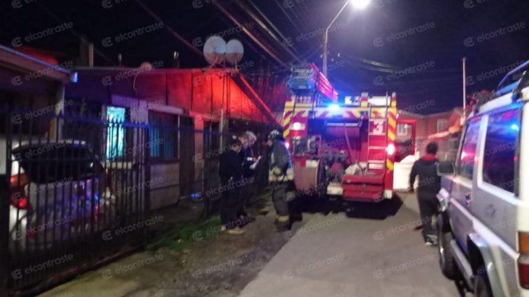 Accidente eléctrico afecta a vivienda en villa Juan Pablo II de Los Ángeles