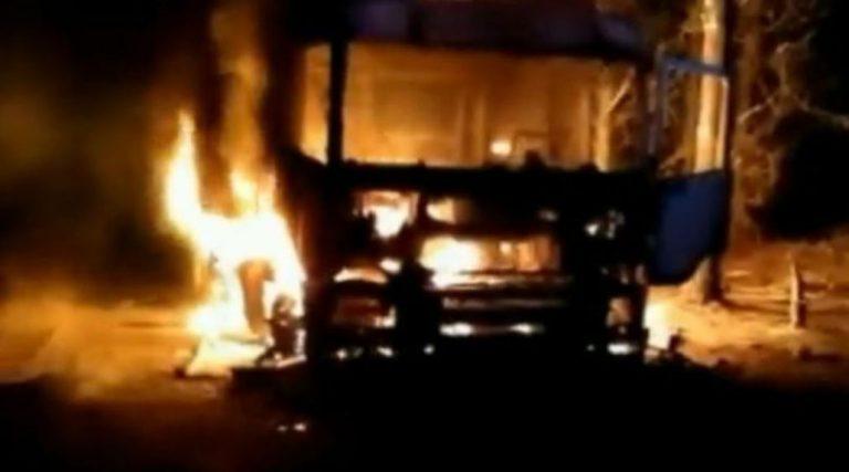 Atentado incendiario en Quilleco: Camioneros llaman a que «el Ejecutivo cumpla su rol»