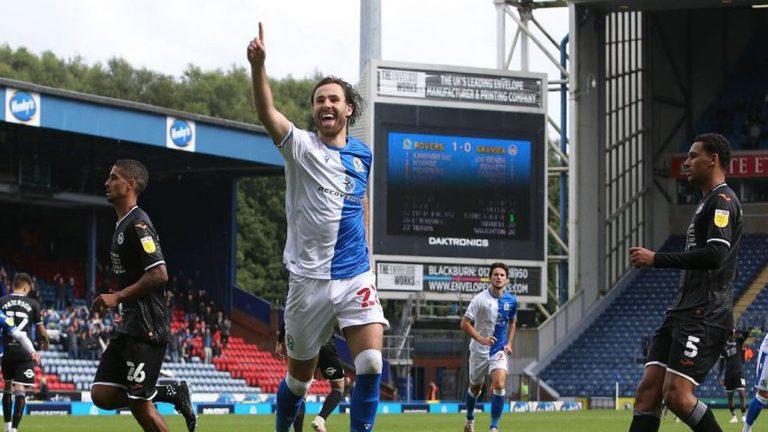 Ben Brereton sigue en estado de gracia: fue figura y anotó gol del triunfo en Inglaterra