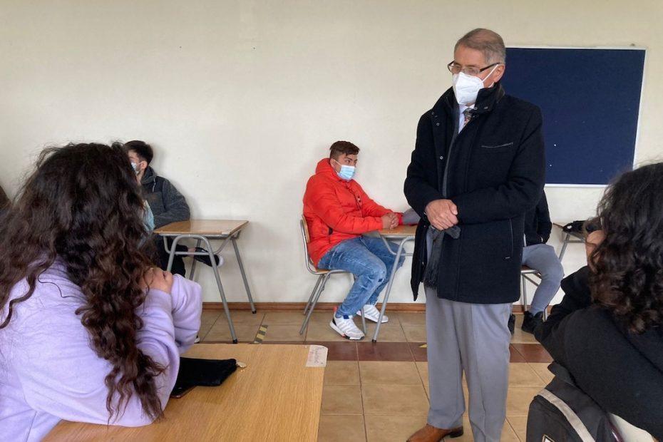 covid regreso a clases presenciales en Yumbel
