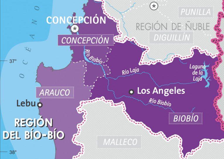 Domingo 22 de agosto: Reporte de casos por comunas en el Biobío