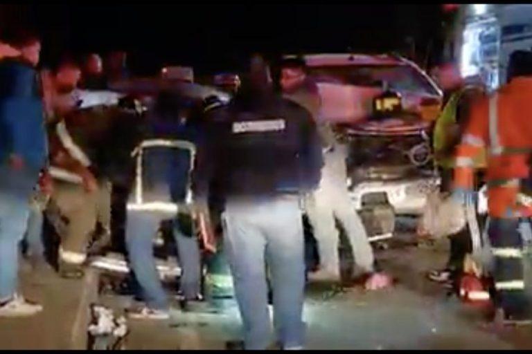 Un bebé fallecido y tres heridos deja accidente entre Angol y Collipulli