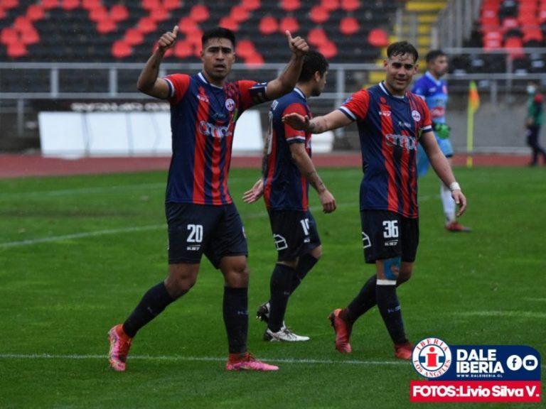 Iberia gana por la cuenta mínima a Deportes Valdivia jugando de local en Talca