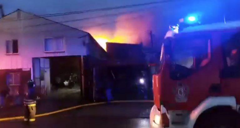 Incendio provoca tragedia en Concepción: un matrimonio y su hijo fallecieron