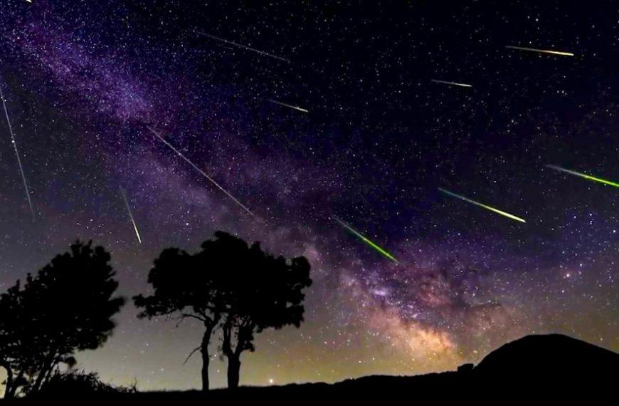 Lluvia de estrellas: No te pierdas este maravilloso fenómeno astronómico