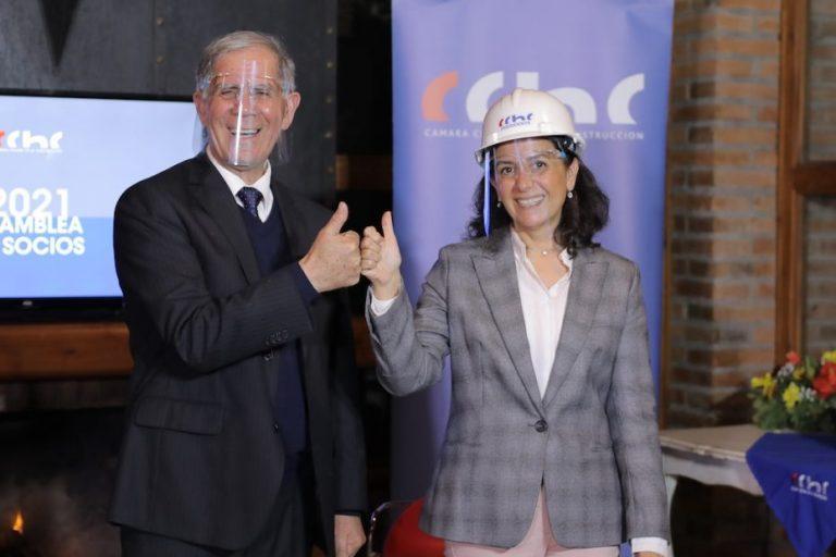 Marcela Melo asume como la primera presidenta de CChC Los Ángeles