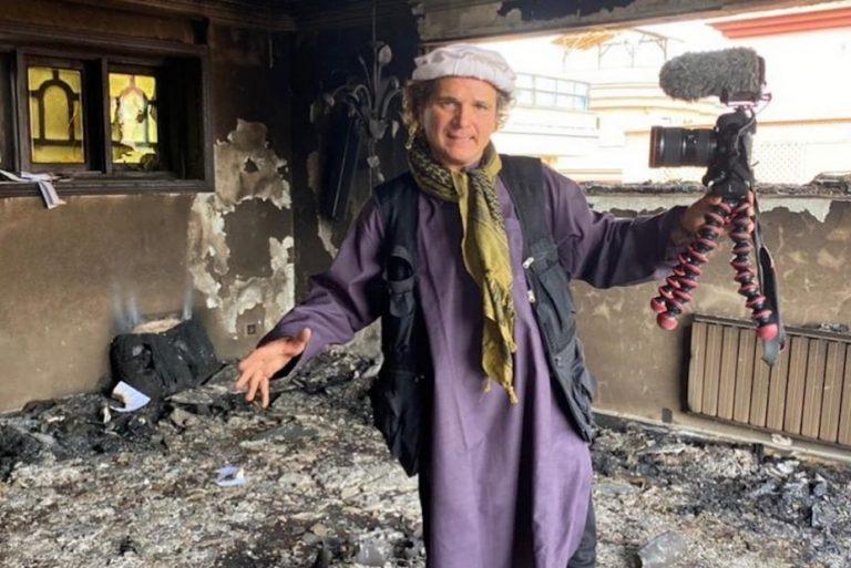Periodista chileno en Afganistan: «Me preocupa como voy a salir»