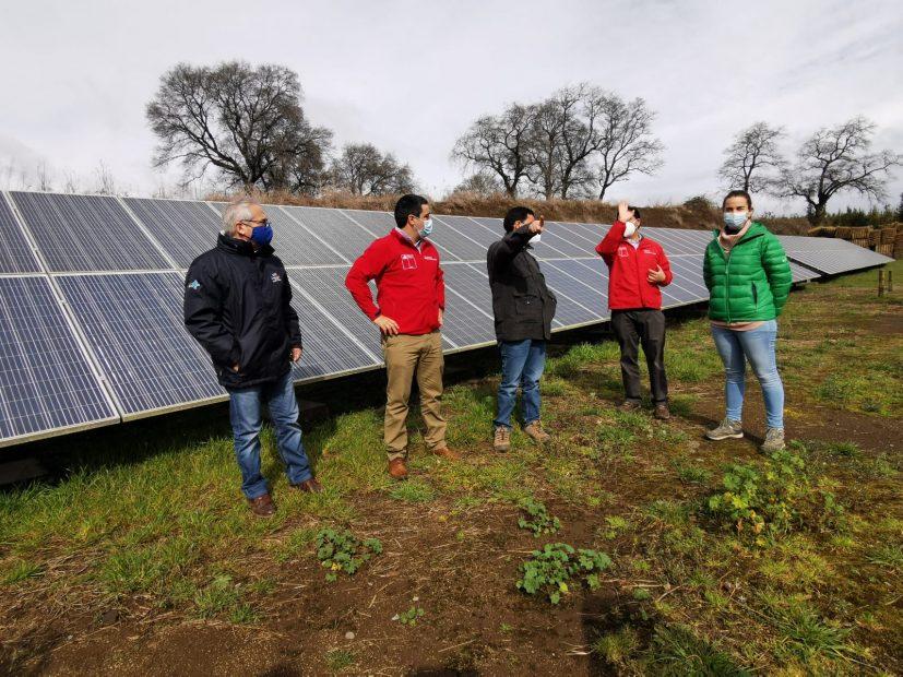 sector agricola biobio cambio climático